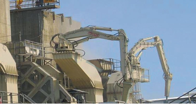 MEXICO MINE SUPPLY - Rock Breakers & Booms - Hydraulic